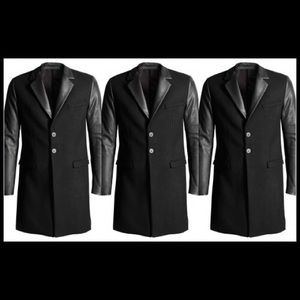 Versace Jackets & Coats - Rare Collection - Versace X H&M Black Trench Coat